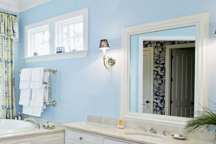 Crown molding window and mirror frame