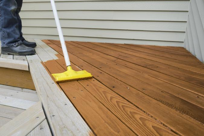 Protect A Deck With Stain