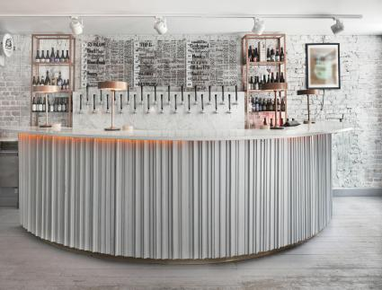 Corrugated Sheet Metal Bar