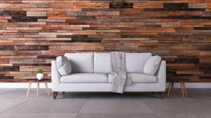 Reclaimed Barnwood Wall