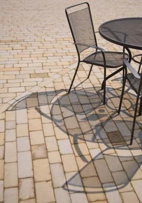 Running Bond Patio Pavers