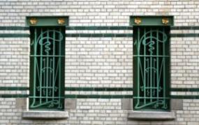 iron shutters