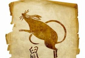 Chinese horoscope symbol for the rat