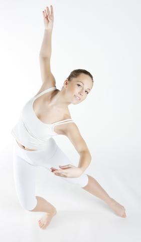 a Libra woman dancing in ballet clothes