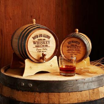 Personalized Whiskey Barrel at Uncommongoods