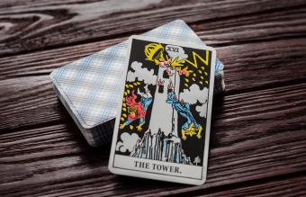 Meaning of the Tower Card in Tarot
