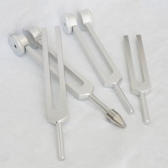 Tuning forks (weighted and unweighted)