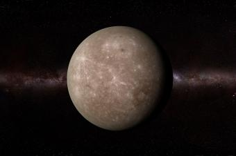 planet mercury in the solar system