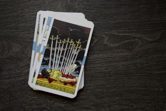 Swords tarot card