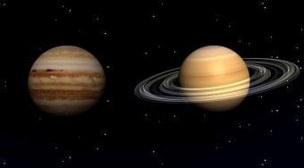 planets jupiter and saturn