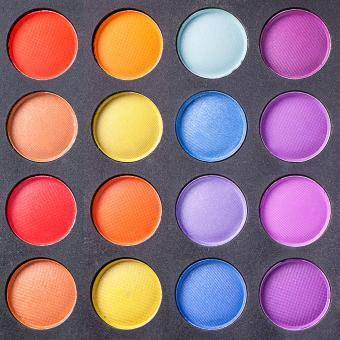 colorful circle pattern
