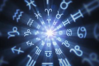 Zodiac glyphs