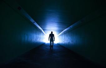walk toward the light