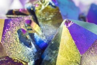 Rainbow Aura Quartz Meaning and Positive Properties