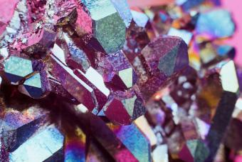 Aura rainbow quartz