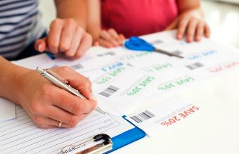 Making shopping list and coupons