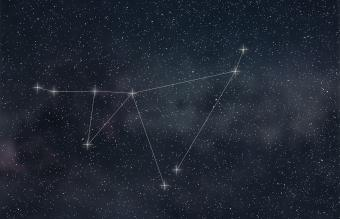 Capricorn constellation lines