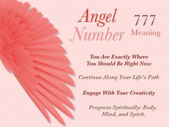 Number Angel 777 Meaning