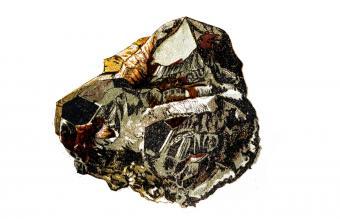 Hematite formation rock