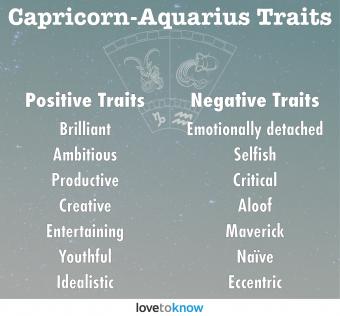 Capricorn-Aquarius Personality Traits
