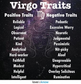 Personality virgo girl Ultimate Virgo