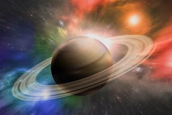 Saturn planet solar system