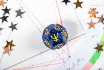 symbol of the planet Neptune