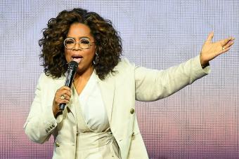 Oprah Winfrey speaking