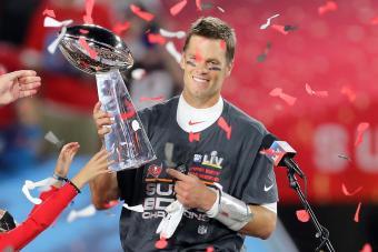 Super Bowl MVP Tom Brady
