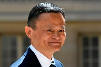 Jack Ma, co-founder and executive chair of the Alibaba Group, arrives for the Tech For Good meetup - Getty Editorial Use