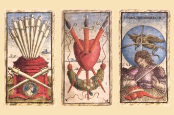 Sola Busca-tarot cards