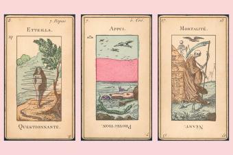 Etteilla Tarot cards