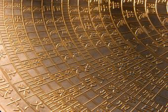 golden calendar for Chinese horoscope