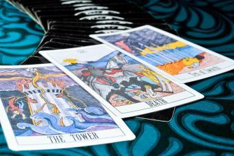 Bad Luck tarot cards