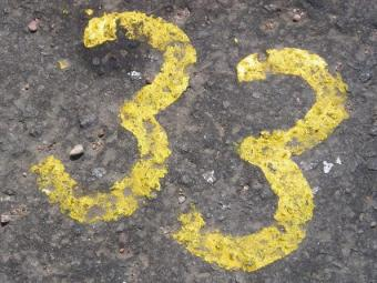 33 is a master number in numerology.
