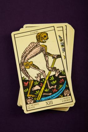 death card meaning in a tarot love reading - Love Card Reading