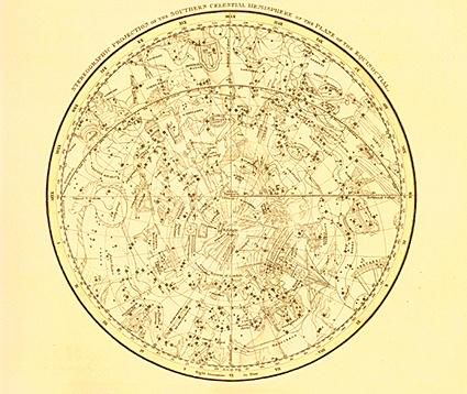 Astrology Star Map