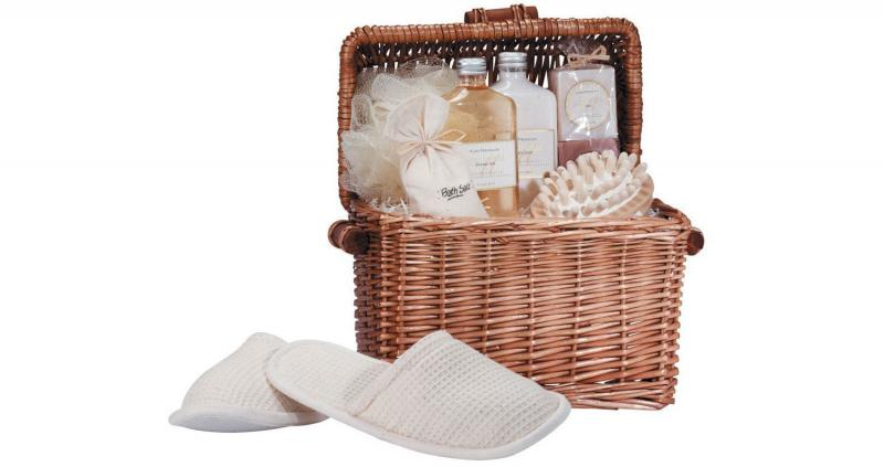 Honey vanilla scent spa-in-a-basket