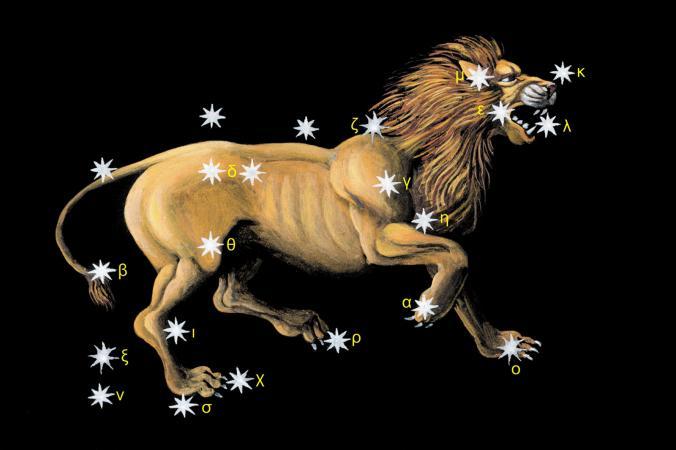 lion leo constellation