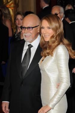 Céline Dion and René Angélil