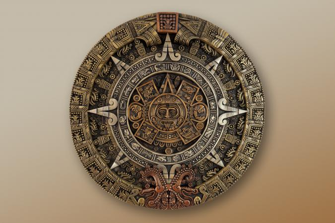 ancient Aztec calendar