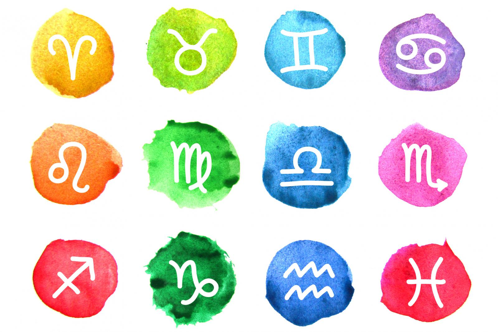 Astrological Sign Glyphs