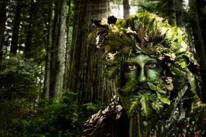 celtic symbolism of a green man