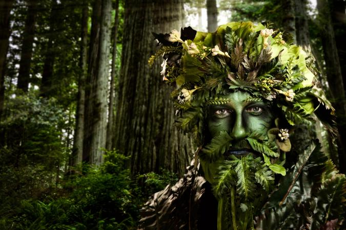 celtic symbolism of a green man