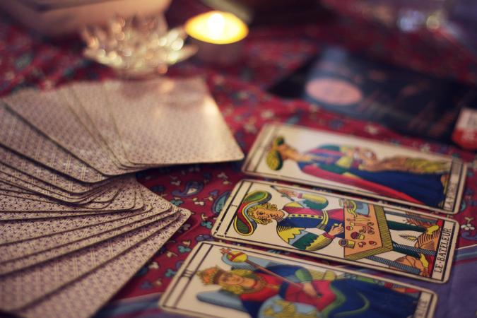Tarot court cards