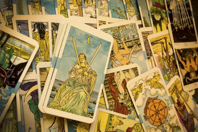 art on tarot cards