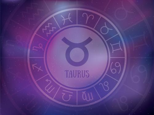 Taurus symbol illustration
