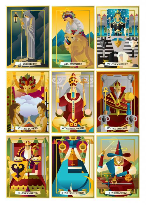 Hierophant in the major arcana