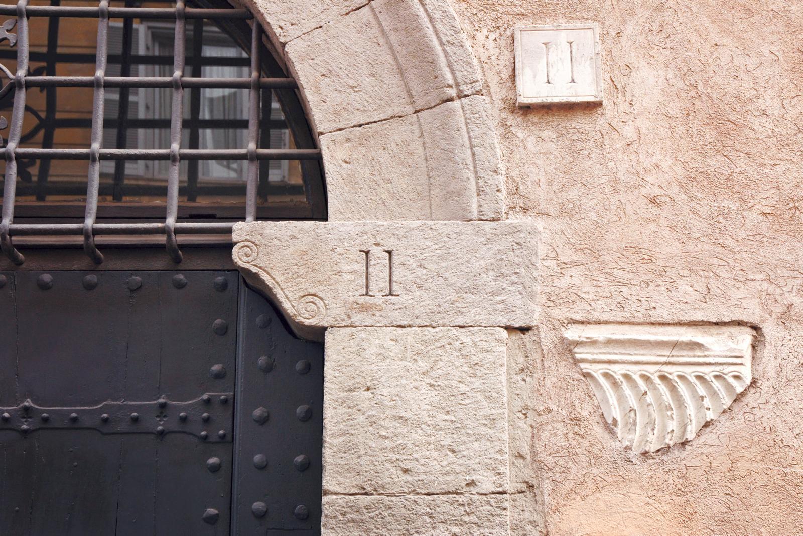 door with number 11