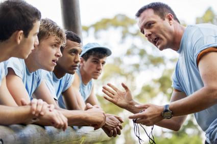 motivational boot camp team leader